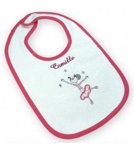 cape de bain bébé souris personnalisé