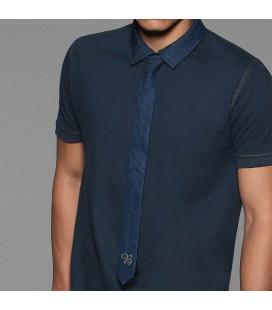 Cravate jeans personnalisée