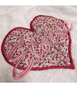 Peignoir coeur