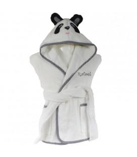 Peignoir panda personnalisé