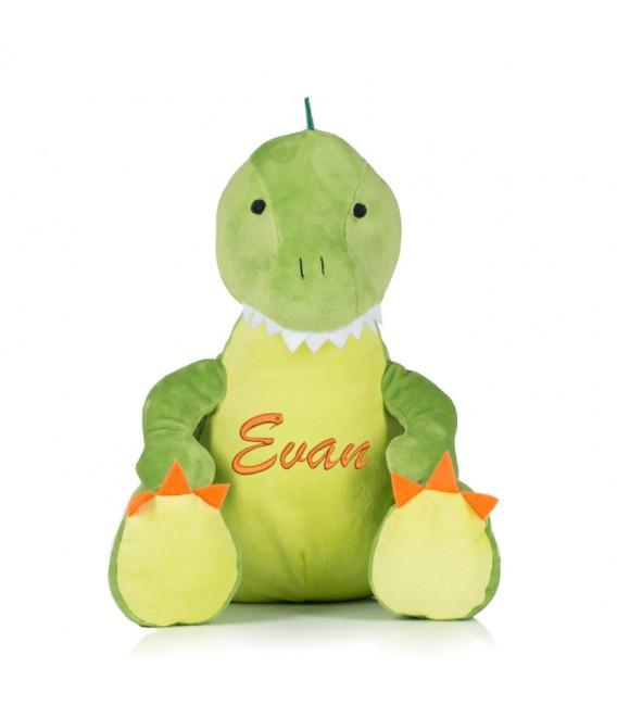Peluche rane pyjama dinosaure