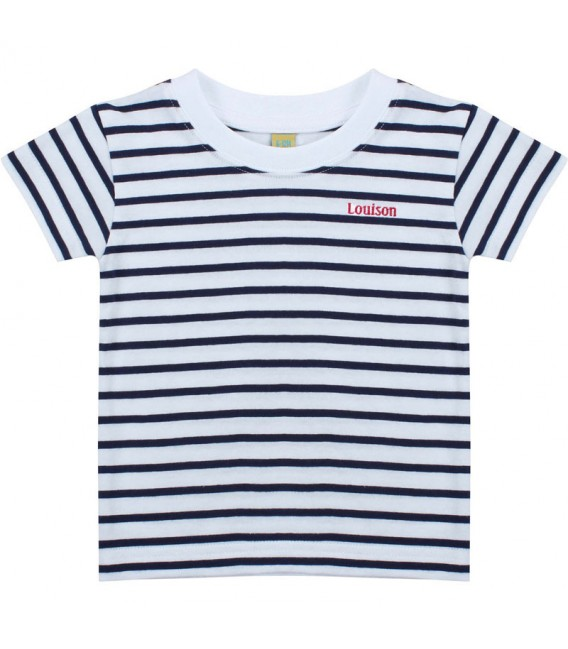 Tee-shirt marinière enfant