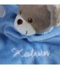 Doudou ours personnalisé prénom