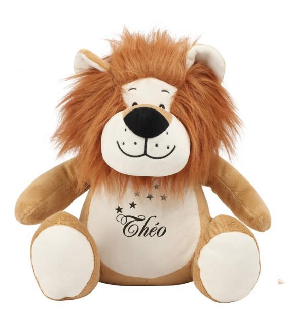 Peluche lion range pyjama personnalisée