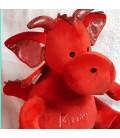 Peluche range pyjama dragon personnalisée