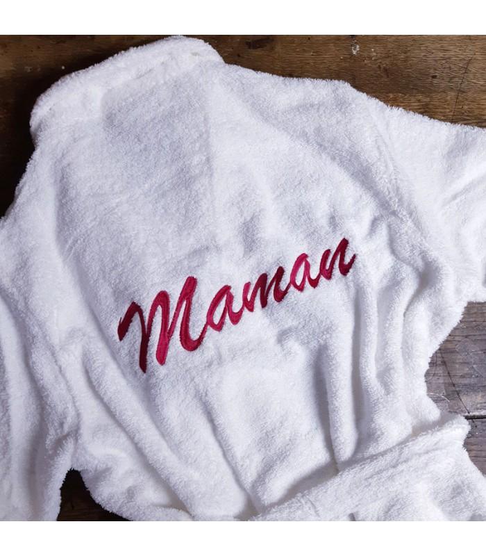 30c4dc257554b ... Peignoir femme sublime maman personnalisé fête des mères ...