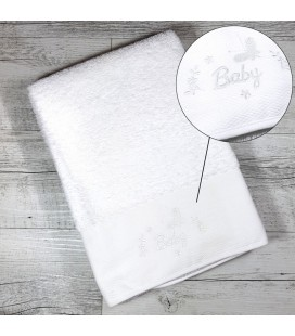 Serviette de toilette BABY personnalisée avec un prénom