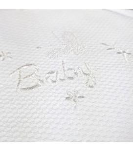 cape de bain BABY brodé et personnalisée