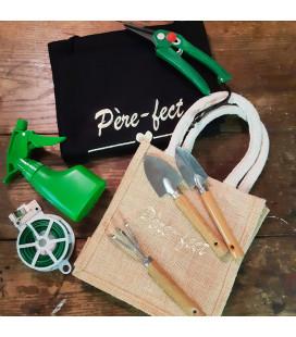 Coffret de jardinage, Tablier personnalisé et ses accessoires