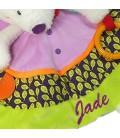 Doudou renard bébé personnalisé