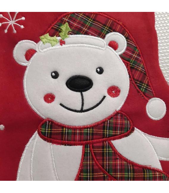 Botte de Noël Rouge Personnalisée