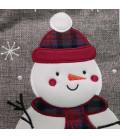 Botte de Noël grise Personnalisée