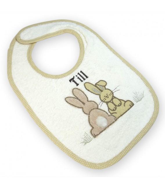 cape de bain bébé ourson personnalisé