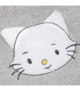 Bavoir petit chat brodé prénom