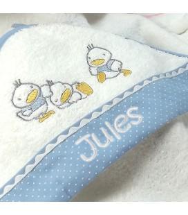 Cape de bain bébé petit canard